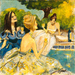 "Special - Women and Wine® 15"" x 15"" Sale Prints"