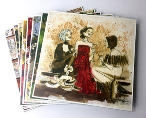 "Special - Women and Wine® 10"" x 10"" Sale Prints"