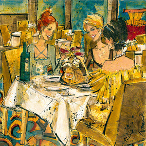 "Special - Women and Wine® The Toast Edition 10""x10"""