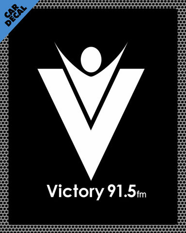 Victory 91.5 Car Decal