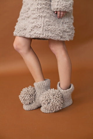 Jean Slipper Booties