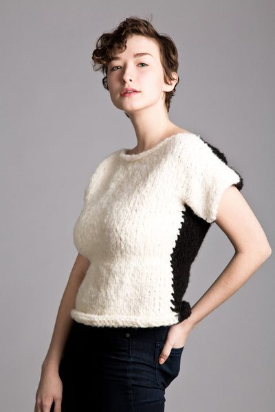 Olivia Short sleeve Sweater Pattern