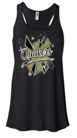 QV YOUTH CHEERLEADING GIRLS/LADIES TANK