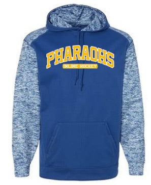 PHARAOHS POLY/FLEECE HOODED SWEATSHIRT