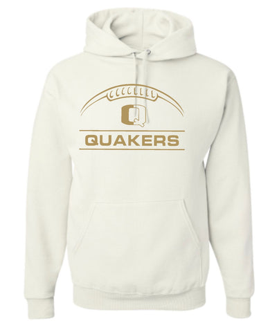 QV 7TH/8TH GRADE BOYS FOOTBALL COTTON BLEND HOODED SWEATSHIRT (YOUTH AND ADULT)