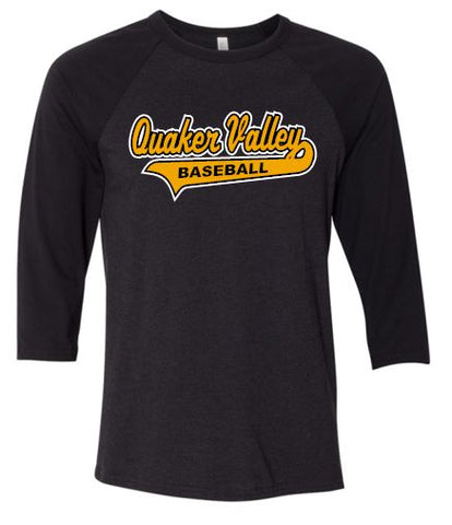 QV BASEBALL THREE-QUARTER SLEEVE