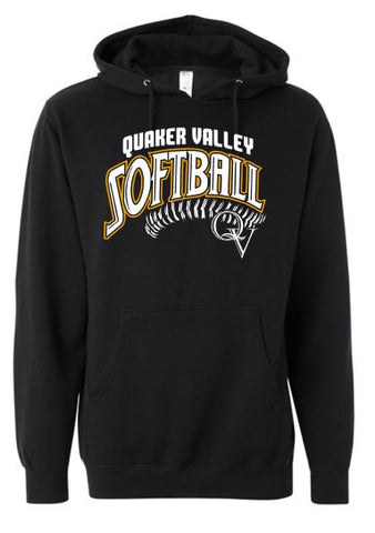 QV SOFTBALL HOODED SWEATSHIRT