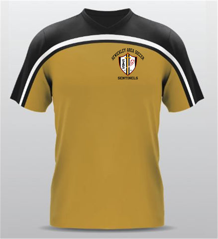 SEWICKLEY AREA SOCCER GOLD JERSEY