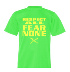 QVSB PLAYER SHIRT - RESPECT ALL FEAR NONE