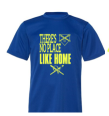 QVSB PLAYER SHIRT - THERE'S NO PLACE LIKE HOME