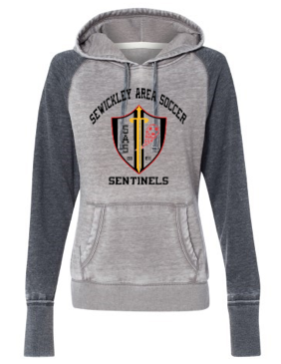 SEWICKLEY AREA SOCCER LADIES HOODED SWEATSHIRT