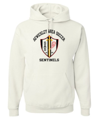 SEWICKLEY AREA SOCCER HOODED COTTON SWEATSHIRT