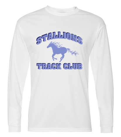 STALLIONS POLY-WICKING LONG SLEEVE