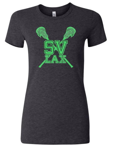 SVLAX GIRLS LACROSSE LADIES CREWNECK