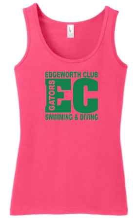 EDGEWORTH CLUB SWIM TEAM GIRLS/LADIES TANK