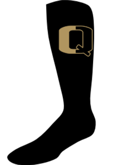 QV YOUTH FOOTBALL SPLIT Q CREW SOCKS (YOUTH - ADULT)