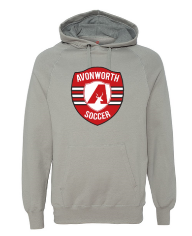 AVONWORTH SOCCER COTTON BLEND HOODED SWEATSHIRT