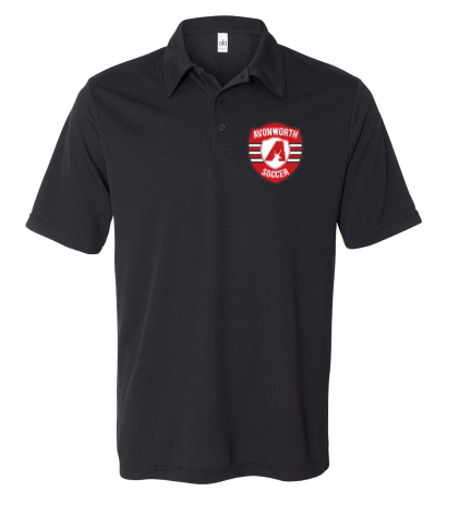 AVONWORTH SOCCER EMBROIDERED POLO SHIRT