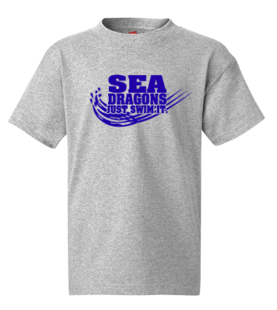 SEA DRAGONS COTTON SHORT SLEEVE - JUST SWIM IT