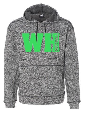 WEST HILLS SOFTBALL COSMIC FLEECE HOODED SWEATSHIRT (YOUTH & ADULT)