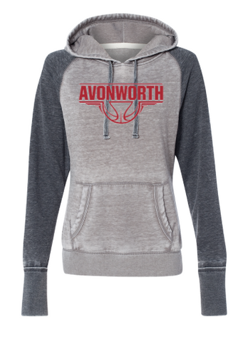 AVONWORTH BASKETBALL LADIES HOODED SWEATSHIRT