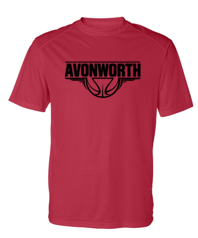 AVONWORTH BASKETBALL POLY-WICKING SHORT SLEEVE (YOUTH & ADULT)