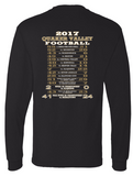 QV FOOTBALL STATE CHAMPS OFFICIAL LONGSLEEVE WITH CHOICE OF BACK DESIGN