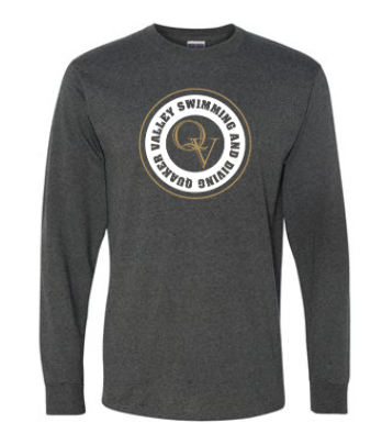 QUAKER VALLEY SWIMMING AND DIVING LONG SLEEVE T-SHIRT
