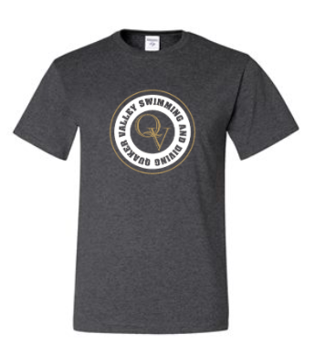 QUAKER VALLEY SWIMMING AND DIVING SHORT SLEEVE T-SHIRT