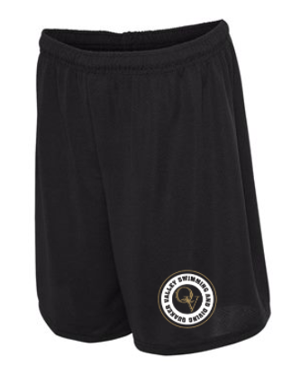 QUAKER VALLEY SWIMMING AND DIVING MESH SHORTS