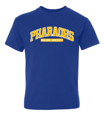 PHARAOHS HOCKEY WICKING SHORT SLEEVE - 2 COLOR INK