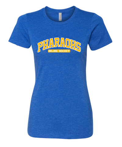 PHARAOHS HOCKEY LADIES COTTON SHORT SLEEVE