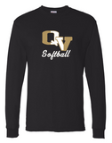 QV SOFTBALL LONG SLEEVE T-SHIRT