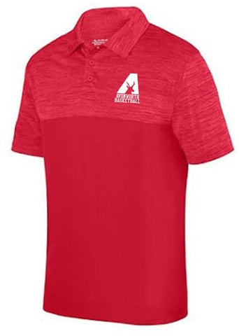 AVONWORTH BASKETBALL RED POLO SHIRT