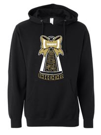 QV YOUTH CHEERING SPECIAL BLEND SOFT HOODED SWEATSHIRT (YOUTH & ADULT)