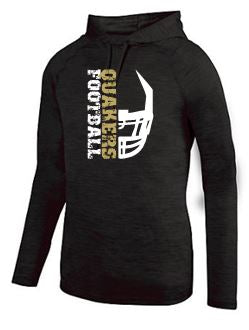 QV YOUTH FOOTBALL - MOISTURE WICKING HOODED T-SHIRT