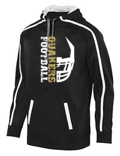 QV YOUTH FOOTBALL STOKED TONAL HOODED SWEATSHIRT (YOUTH & ADULT)