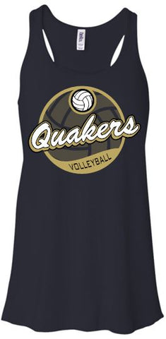 QUAKERS VOLLEYBALL FLOWY TANK