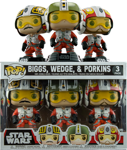 Star Wars - Biggs, Wedge & Porkins - 3 Pack