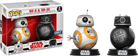 Star Wars - BB-8 & BB-9E - 2 Pack