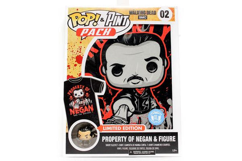 Pop Tees (The Walking Dead) - Property of Negan & Figure