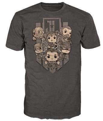 Pop Tees (DC) - Justice League