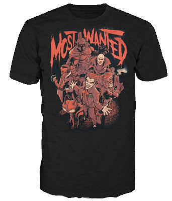 Pop Tees (DC) - Most Wanted