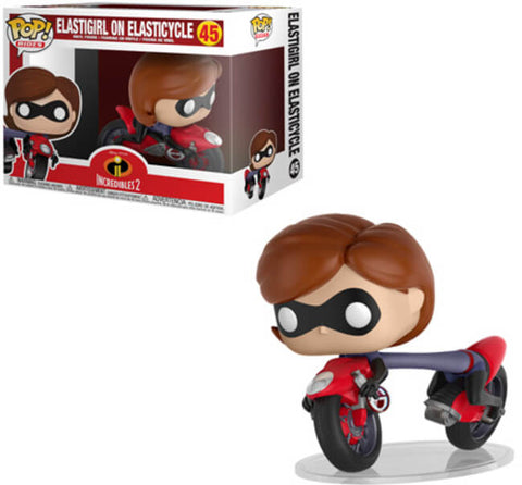 Disney - Elastigirl on Elasticycle - 45