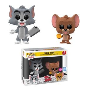 Tom & Jerry - Tom & Jerry (Flocked) - 2 Pack