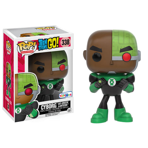 DC - Teen Titans Go! - Cyborg (As Green Lantern) - 338