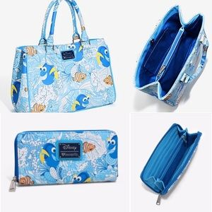 8b55919928a Loungefly - Finding Nemo Dory Purse and Wallet – The Big 3 Collectibles