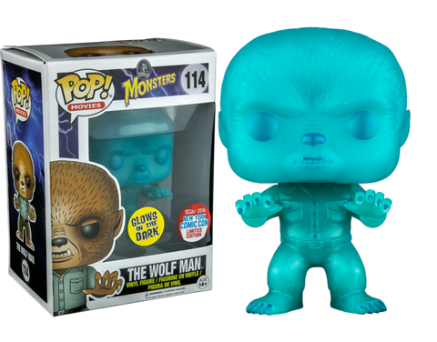 Monsters - The Wolf Man Glows in the Dark (NYCC Limited Edition) - 114
