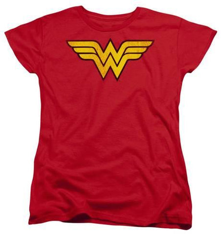 DC Tees (Woman T-Shirt) - Wonder Woman (Logo)