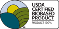 USDA Certified Bio Based Product